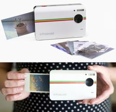 Photographers can let down their hair with the Polaroid Z2300 which lets you take fun photos and print them in the form of photo stickers in less than a minute! Want color filters and borders? You got them. And this little baby can also record videos, and lets you crop photos before printing them.