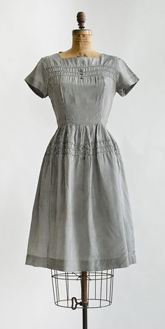 Bibliothèque Dress | vintage 1960s gingham dress