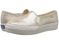 Zappos.com Keds triple decker exotic shimmer