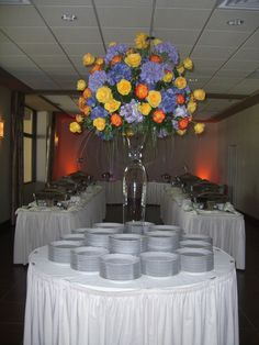 Lake Club Buffet table