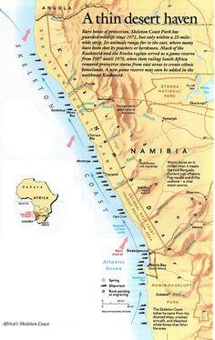 Skeleton Coast Map