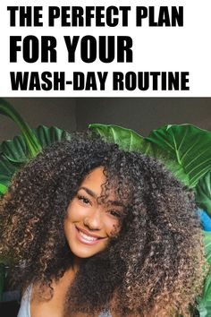Wash day routine and care for black women with natural hair. #haircare Natural Hair Growth Tips, Natural Hair Types, Natural Hair Care, Growing Long Hair Faster, Grow Long Hair, Grow Hair, Hair Shedding, Long Curls, Natural Hair Inspiration