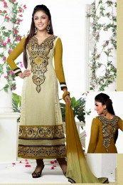 Aarti In Mehendi Color Suit Salwar Kameez Online Shopping, Salwar Suits Online, Indian Salwar Kameez, Mehendi, Online Shopping Stores, Sari, Color, Clothes, Dresses