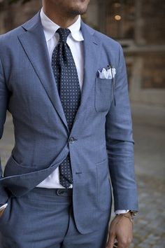 Shop this look ready to wear or tailor made for a perfect fit. More Dapper inspi Dapper Gentleman, Gentleman Style, Mens Fashion Suits, Mens Suits, Men's Fashion, Groom Suits, Suit Men, Groom Attire, Terno Slim