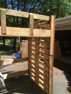 Pallet Loft Bed Beds & Headboards