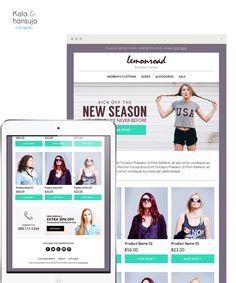 Sale E-mail Newsletter PSD  E-commerce by KalaAndHansujaStudio