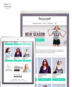 Sale E-mail Newsletter PSD  E-commerce by KalaAndHansujaStudio