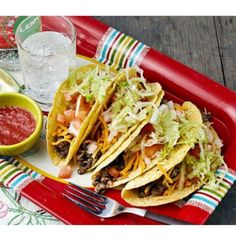 Slow Cooker Vegetarian Lentil Quinoa Taco Filling for your next taco night