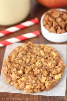 Apple Pie Oatmeal Cookies. An easy, no-fuss recipe for the softest & chewiest oatmeal cookies you'll ever make!