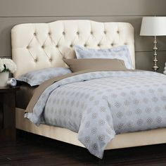 Milo Tufted Bed.