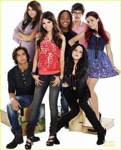 """Victorious is one of the best TV shows EVER! It's about a girl who goes to a performing arts school and has a very interesting group of friends and a crazy drama teacher Sikowitz. There's Tori-the singer and friendly one, Cat-the slightly ditzy sweet one, Jade-the gothic tough girl, Robbie-the brainy one with the puppet, Andre-Tori's best friend and a musician, Beck-the """"cool"""" one, and Tori's crazy older sister Trina. This show has a lot of good music."""