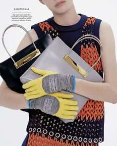 Marie Claire France F/W 2014.15 | Ehren Dorsey by Markus Lambert  [Collections]