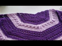 (4) Crochet tutorial: Crochet Midnight Shawl 1/2 - YouTube