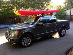 Looking for a Kayak rack for the truck - Ford F150 Forum - Community of Ford Truck Fans