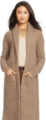 Ralph Lauren Wool-Alpaca Shawl Cardigan - Shop for women's Cardigan