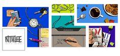 NTHLEE illustrations / NATALIA NAZIMEK