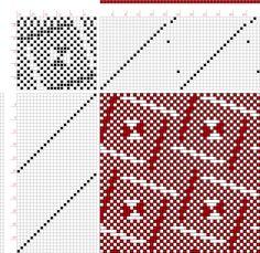 draft image: 24331, 2500 Armature - Intreccio Per Tessuti Di Lana, Cotone, Rayon, Seta - Eugenio Poma, 22S, 24T