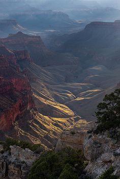 North Rim, Grand Canyon National Park, Arizona; photo by .Jiqing Fan