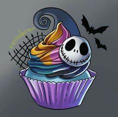 Best Picture For cool wedding cakes unique For Your Taste You are looking for something, and it is g Nightmare Before Christmas Wallpaper, Nightmare Before Christmas Tattoo, Sally Nightmare, Mister Jack, Disney Art, Walt Disney, Jack Y Sally, Sally Skellington, Skull Art