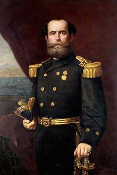 Juan Williams Rebolledo    Juan Williams Rebolledo (Curacaví, 1825-Santiago, 24 de junio de 1910) fue un marino chileno, comandante de la escuadra durante el inicio de la Guerra del Pacífico.