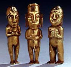 Ídolos incas.