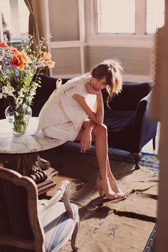 ... things lovely: Alexa Chung by Guy Aroch for Fray I.D.