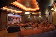 Comfy home cinema.---WOW