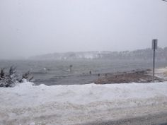 Pleasant Bay, Winter Storm 1/3/14