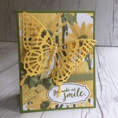 Stampin' Up! hand made card using Delightful Daisy Designer Series Papers