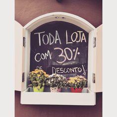 TODA LOJA com 30% a vista❤️ Começando a semana ️amada na @loja_amei