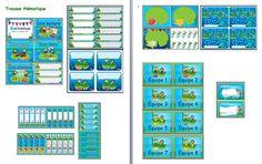 Trousse thématique sur les grenouilles www.lindispensable.ca