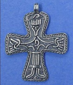 Great Moravian cross, c. 9th century.