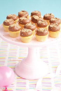 Chocolate & Fudge Cupcakes Recipe - Sweet Enchanted