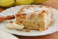 The Country Cook: Banana Bread Crumb Cake
