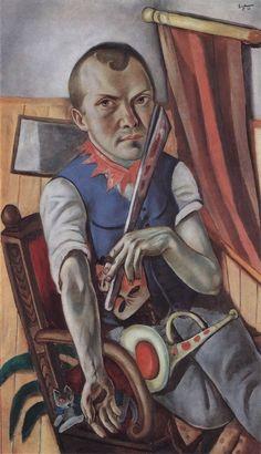 Autorretrato como um palhaço - Max Beckmann, 1921