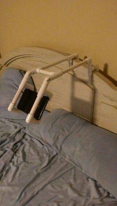PVC Pipe Mobile Holder