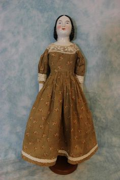 20 inch Antique China Head Doll Known as Lydia Mady by A w Fr Kister CA 1890 | eBay