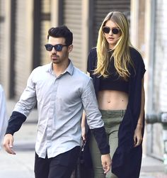 Gigi Hadid and Joe Jonas give us all relationship goals (and ship name goals)...