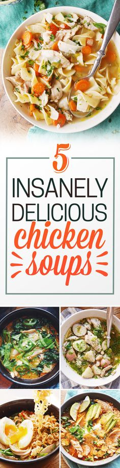 Amazingly delicious, from-scratch, homestyle chicken soup is actually pretty EASY to make!