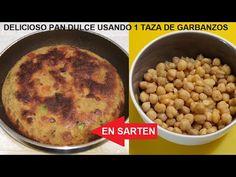 CON 1 TAZA DE GABANZOS HACES UN DELICIOS PAN DULCE EN SARTEN - YouTube Pan Dulce, Beans, Vegetables, Youtube, Food, Breakfast, Sweets, Mugs, Essen