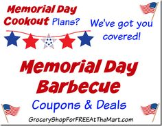walmart memorial day coupons