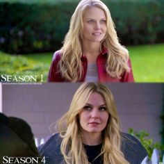 Emma- I noticed all through season 4 that there was a different make-up artist than seasons 1-3
