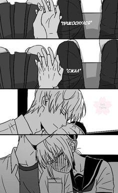 Sougo Okita x Kagura [OkiKagu], Gintama Cute Couple Art, Anime Love Couple, Manga Couple, Anime Couples Manga, Cute Couples, Cute Anime Coupes, Best Anime Drawings, Gintama, Couples Comics