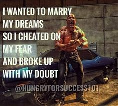 YOU CAN CHEAT YOUR FEAR AND BROKE UP WITH DOUBTBUT CAN'T CHEAT AND BROKE UP WITH YOUR DREAM. #motivational #inspirational #hungryforsuccess Checkout More: http://ift.tt/2fNnCJo
