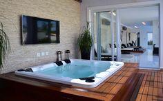Hot Tub Backyard, Backyard Pools, Pool Decks, Pool Landscaping, Jacuzzi, Sauna Design, Design Design, Best Bathroom Designs, Home Interior Design