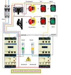 how to wire contactor and overload relay contactor wiring diagram 3 phase motor contactor relay wiring diagram find this pin and more on electrico by carlos martinez see more wiring diagram