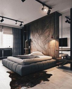Some of the most successful decorators have a streamlined approach to decorating their homes. But what makes a successful home? Here are 33 of the most successful and popular Modern Minimalist bedroom design inspirations: Modern Master Bedroom, Master Bedroom Design, Home Decor Bedroom, Bedroom Ideas, Bedroom Furniture, Master Bedrooms, Master Suite, Furniture Design, Bed Ideas