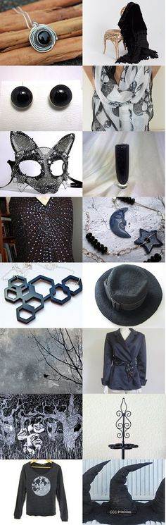Back in Black by Diane Waters on Etsy--Pinned with TreasuryPin.com