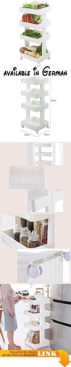 B078V2Q3GX  BOBE SHOP- Küche Regale - Boden-angebrachtes