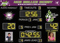 Jam Tracker Roller Derby Score Board - software